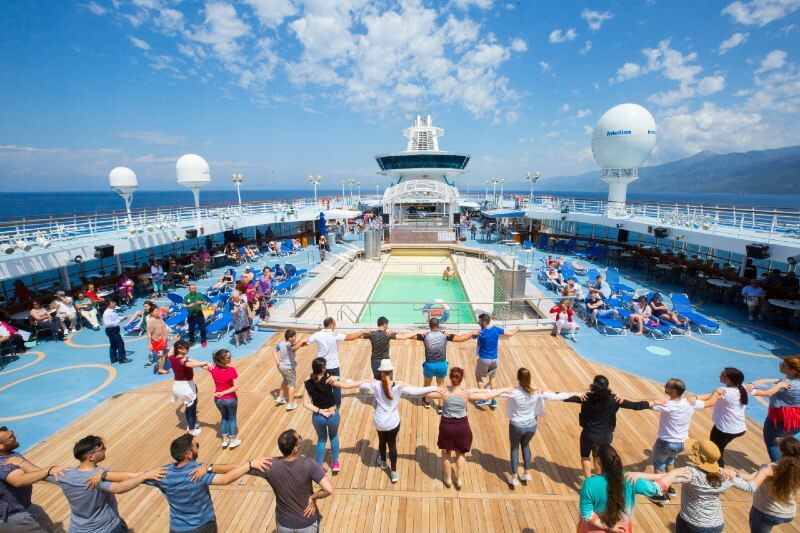 Celestyal Cruises Greek dancing