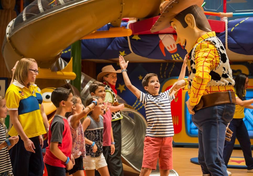 Disney Cruise Line's Kids Club