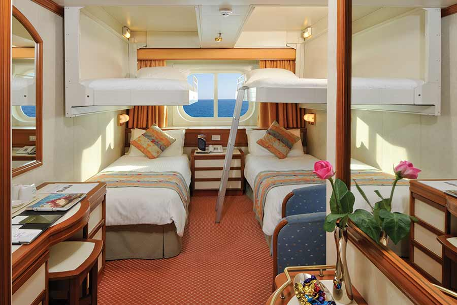 four-berth cruise cabin