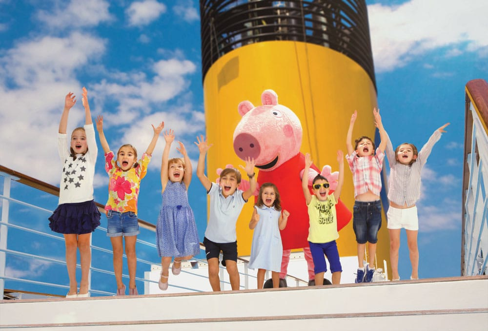 Costa cruise with Peppa Pig