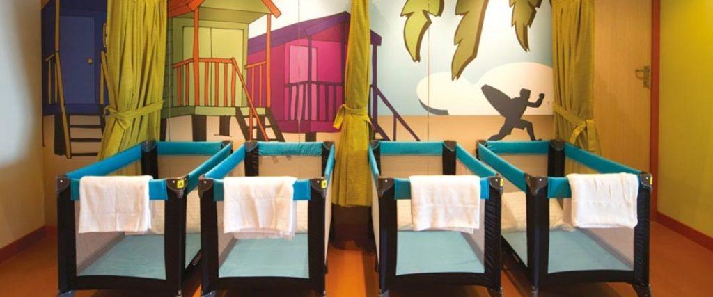 P&O Cruises Night Nursery