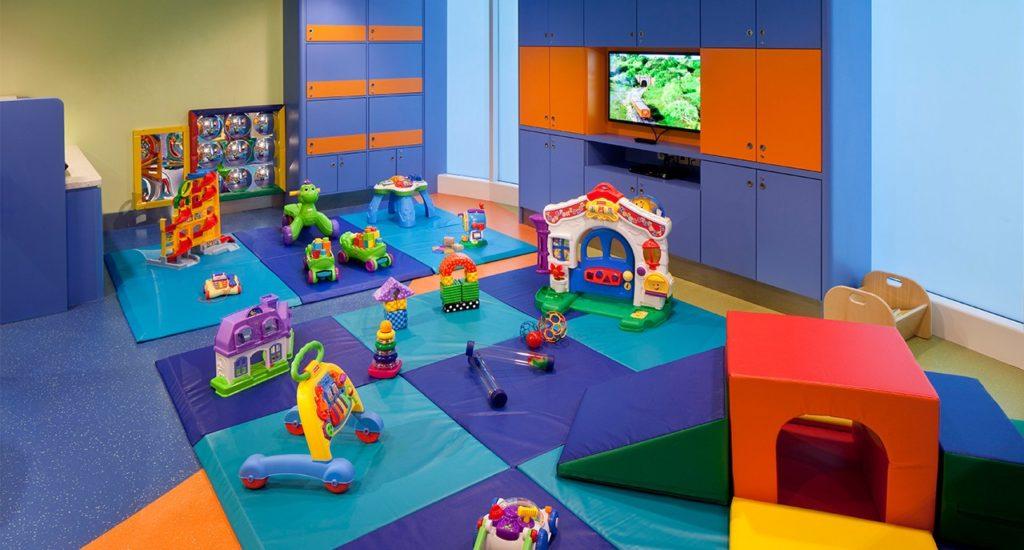 Royal Caribbean's baby facilities