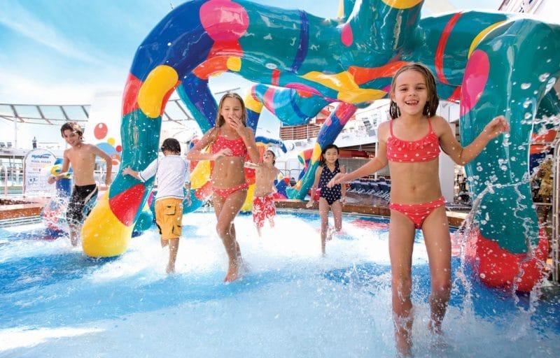 Royal Caribbean Splash Zone