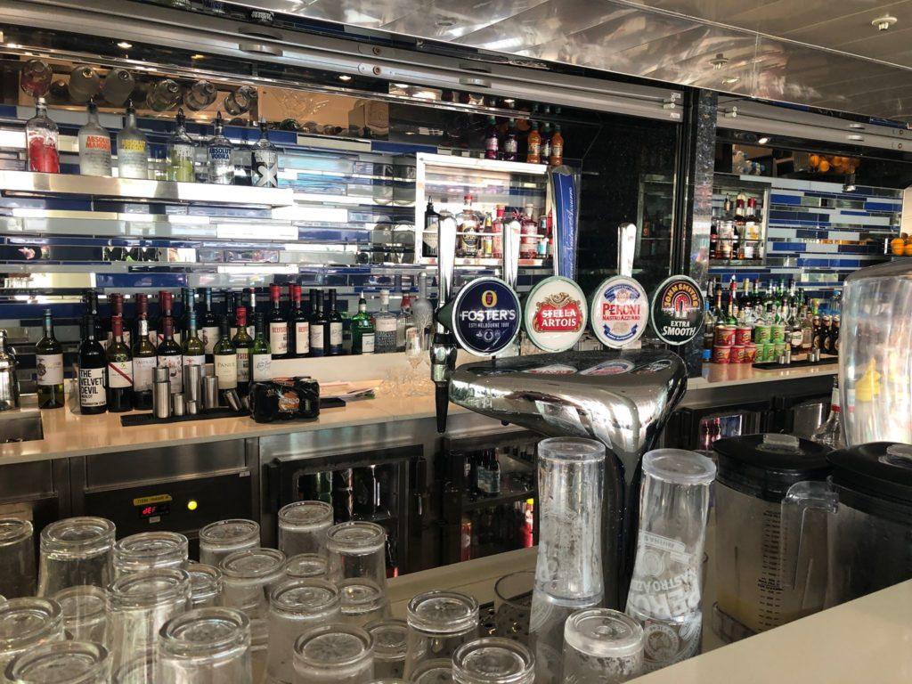 Britannia pool bar