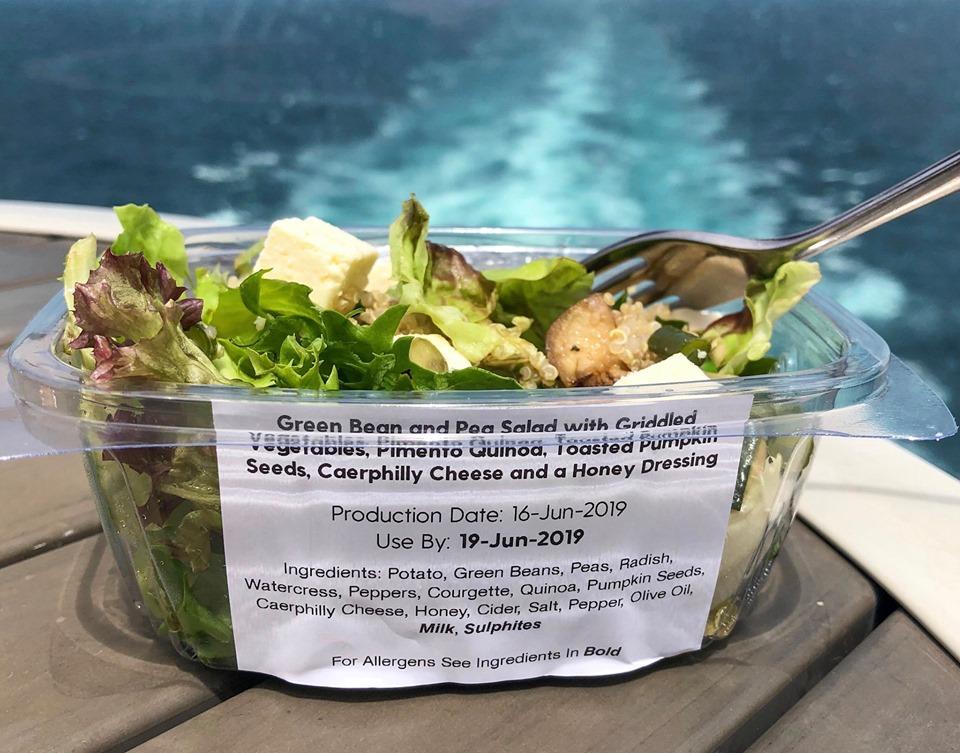 Grab and Go salad