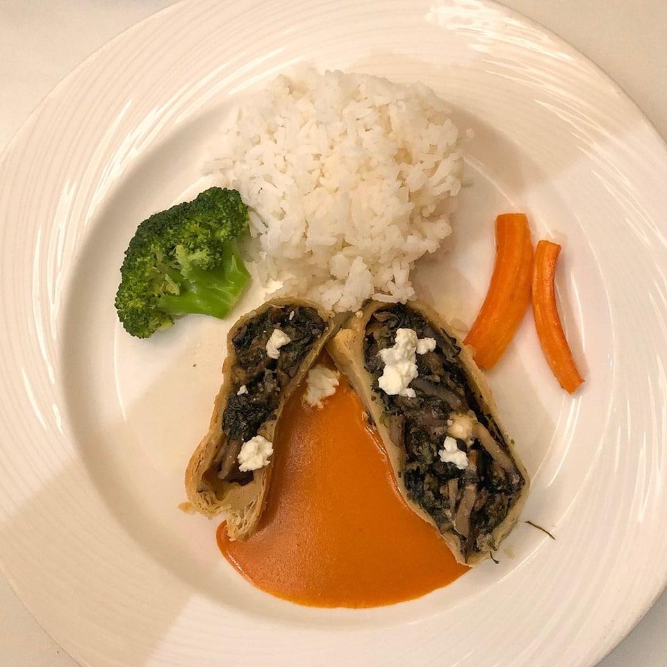 vegetarian lunch main