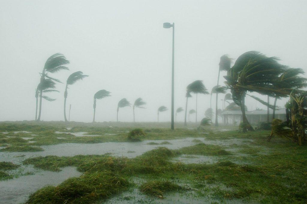 Hurricane in Key West