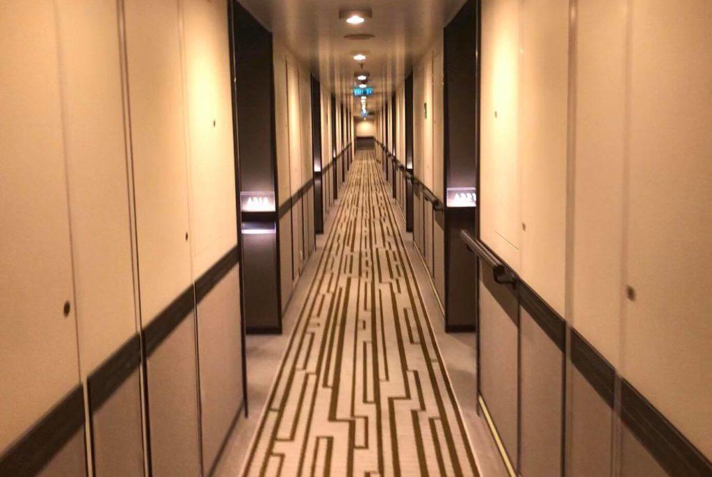 Corridor on Britannia