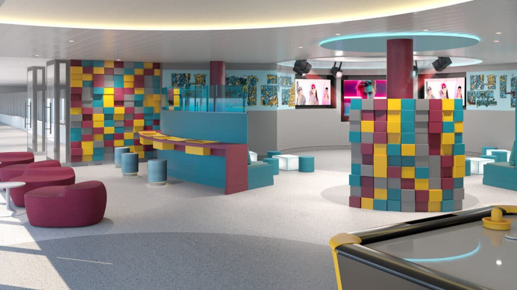 Scubas kids' club on new ship Iona
