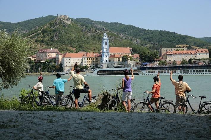 AmaWaterways family river cruise in Austria