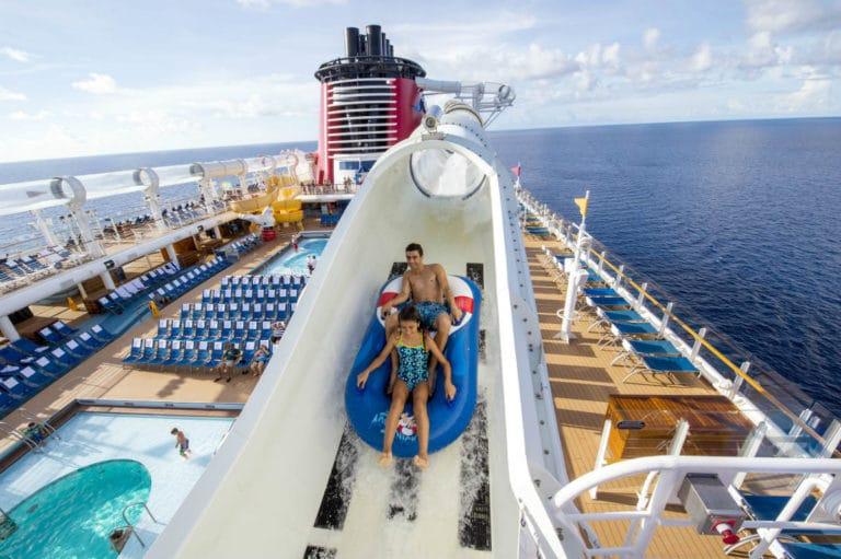 Disney Cruise Line Aqua Duck
