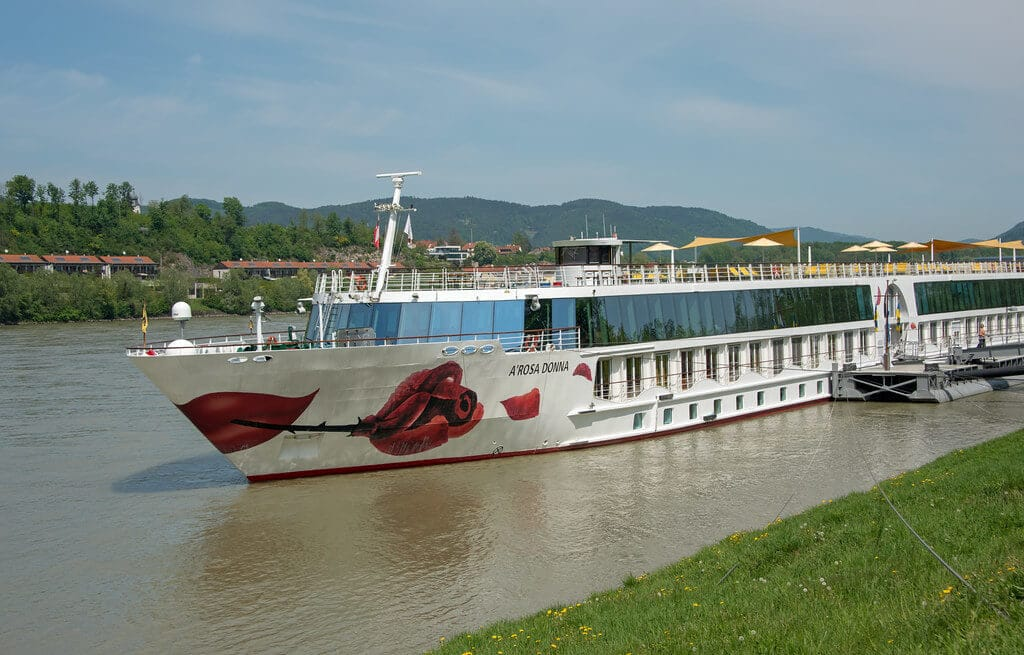 A-ROSA family river cruise ship