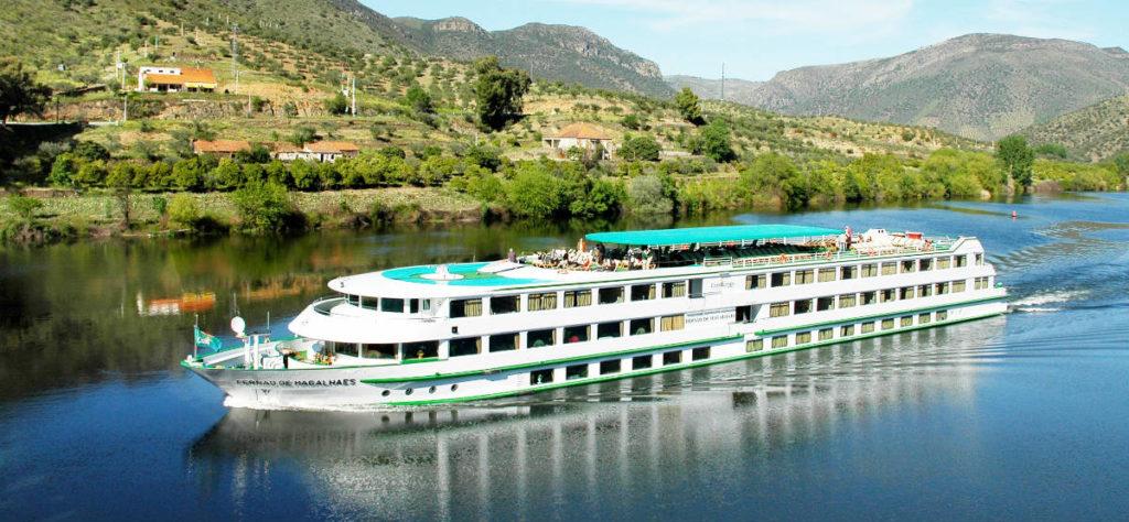 CroisiEurope ship on the Douro