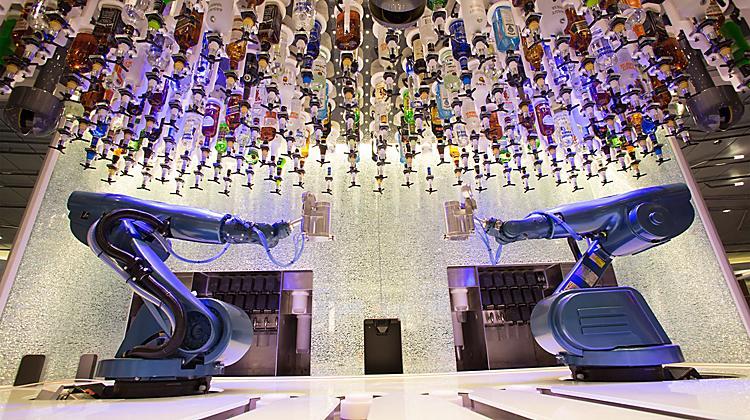 Royal Caribbean's Bionic Bar