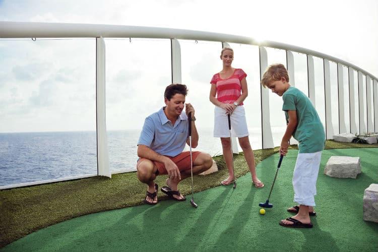 Royal Caribbean's golf course