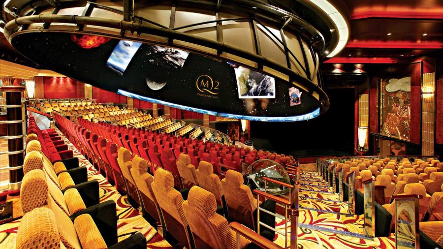 Cunard's planetarium