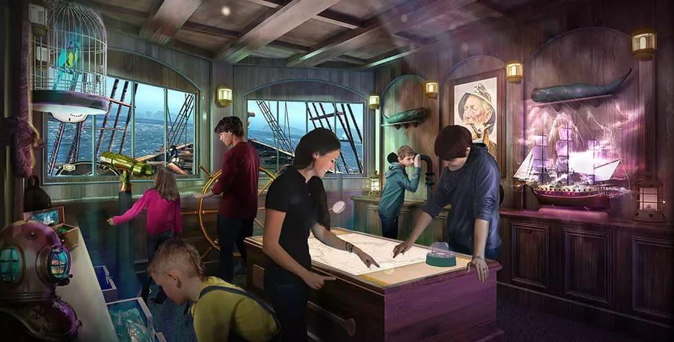 Princess Cruises' Phamtom Bridge Escape Room