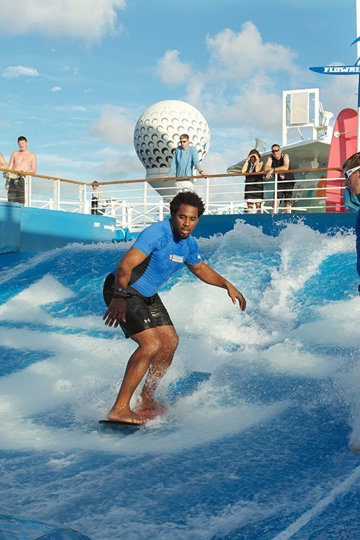Royal Caribbean's FlowRider