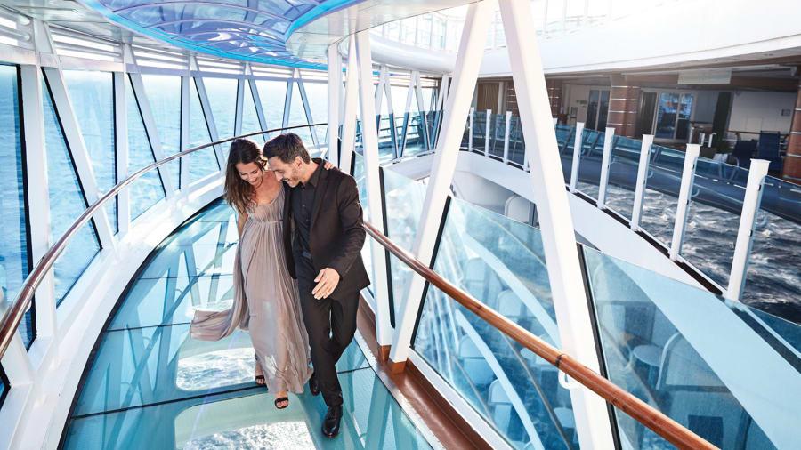 Princess Cruises' Seawalk