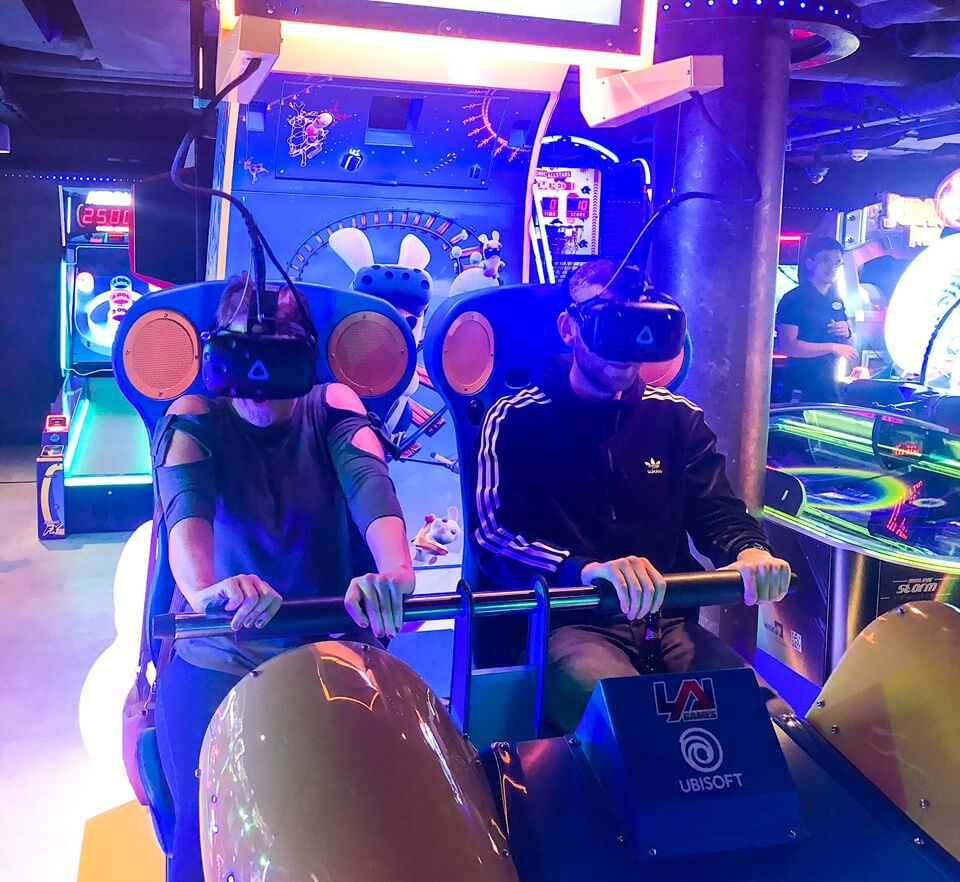 the arcade on Norwegian Encore