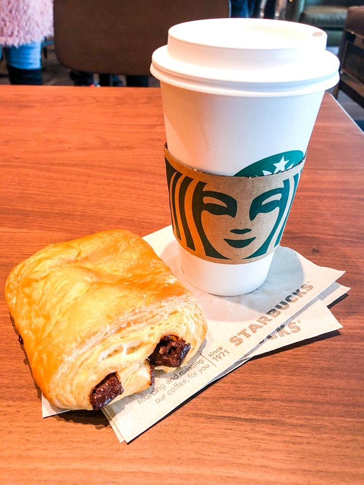 Starbucks in Norwegian Encore