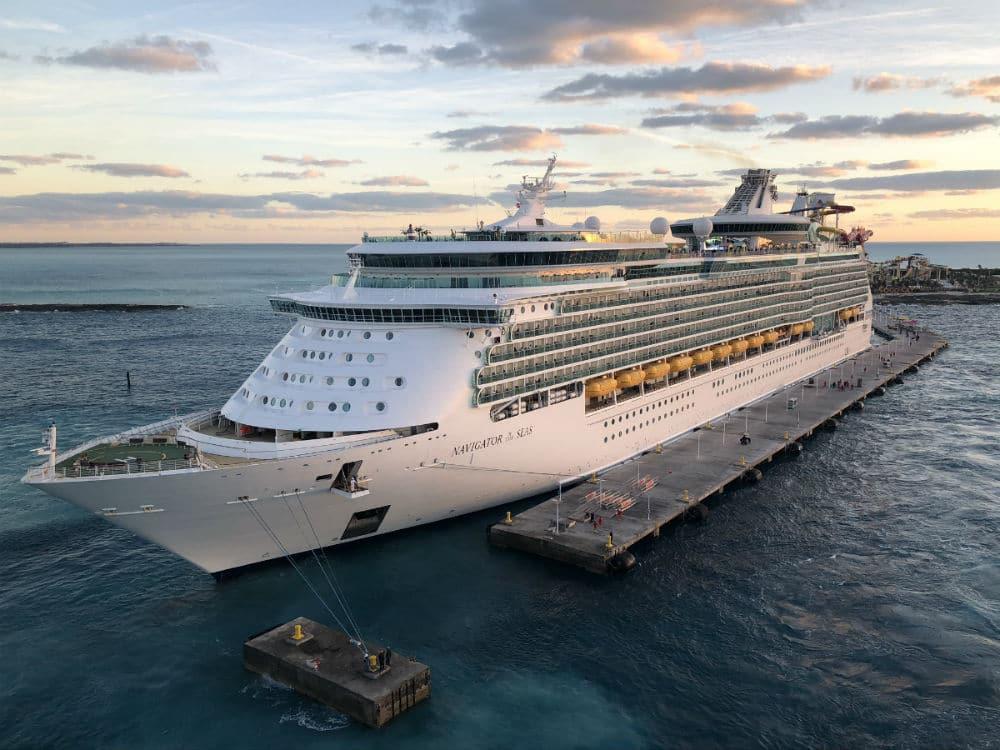 Navigator of the Seas at CocoCay