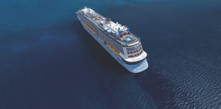 Anthem of the Seas earial view