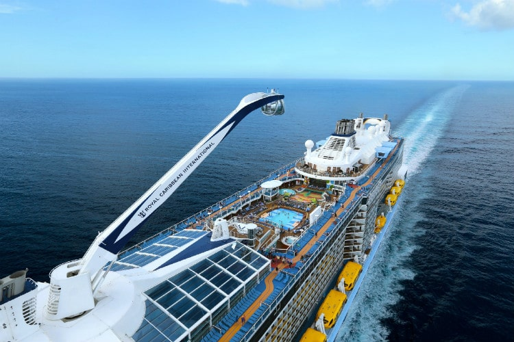 Anthem of the Seas - the best Royal Caribbean ship for babies and toddlers