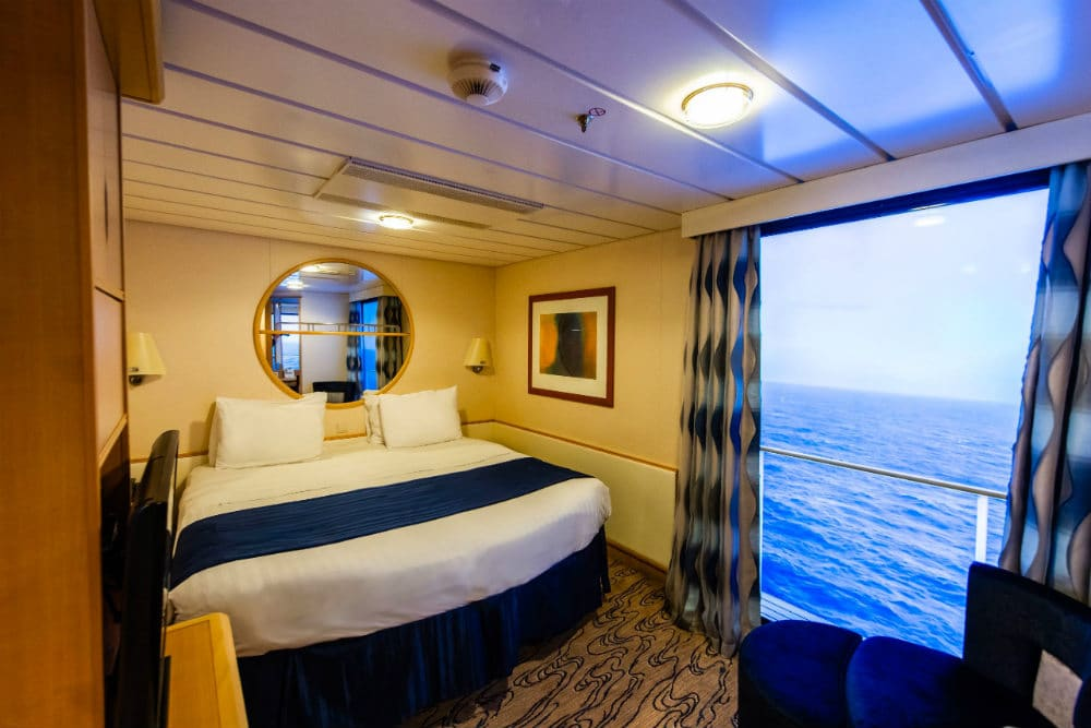 Anthem of the Seas virtual balcony cabin