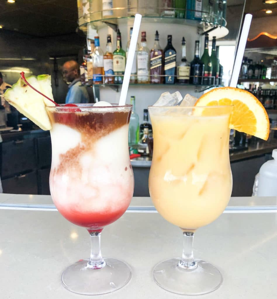 Royal Caribbean cocktails