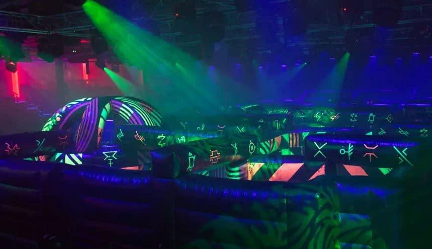 Royal Caribbean laser tag
