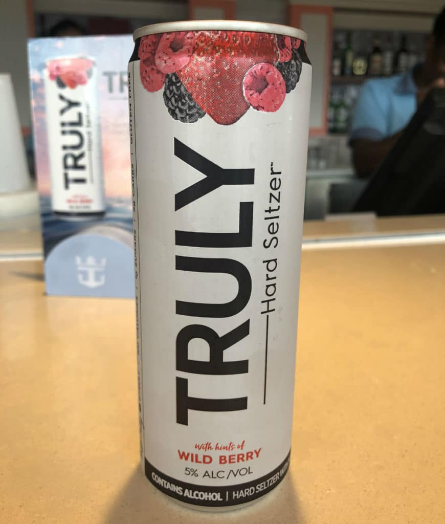 Truly drink
