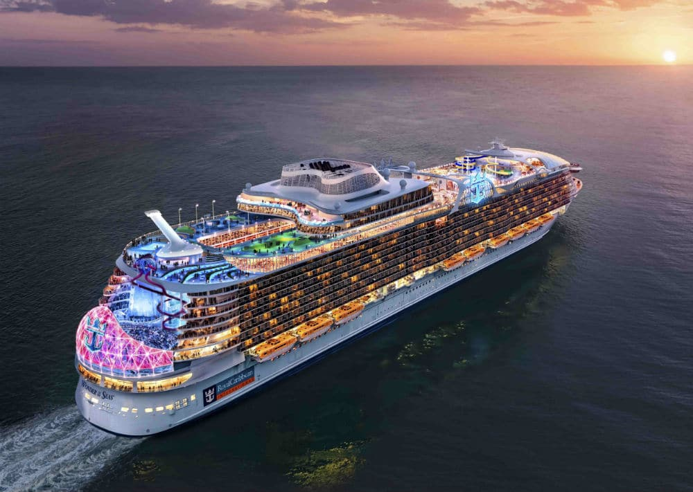 Wonder of the seas will be the biggest cruise ship in the world