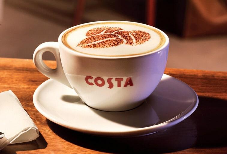 Costa Coffee on P&O Cruises
