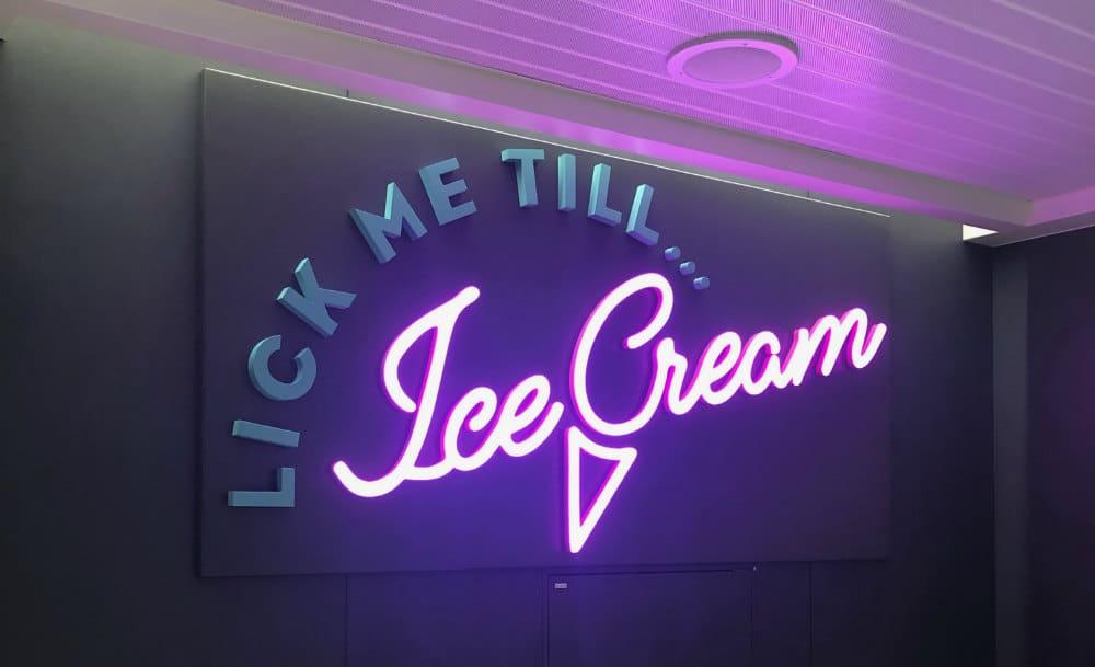 Lick me till Ice Cream