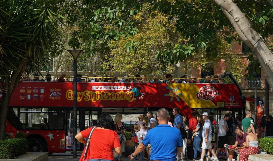Palma de Mallorca hop on hop off bus
