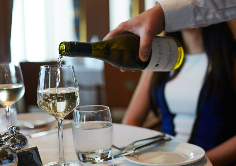 P&O Cruises wine package