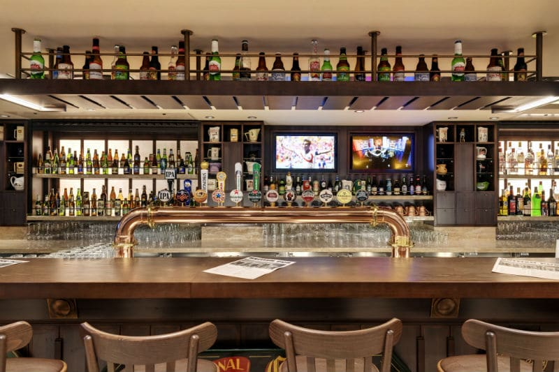 Large selection of beers included in MSC Premium drinks package.