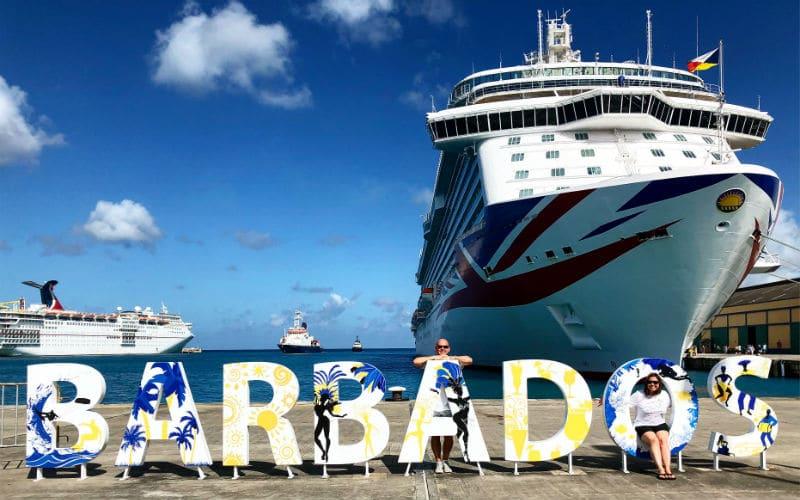 Laura in Barbados