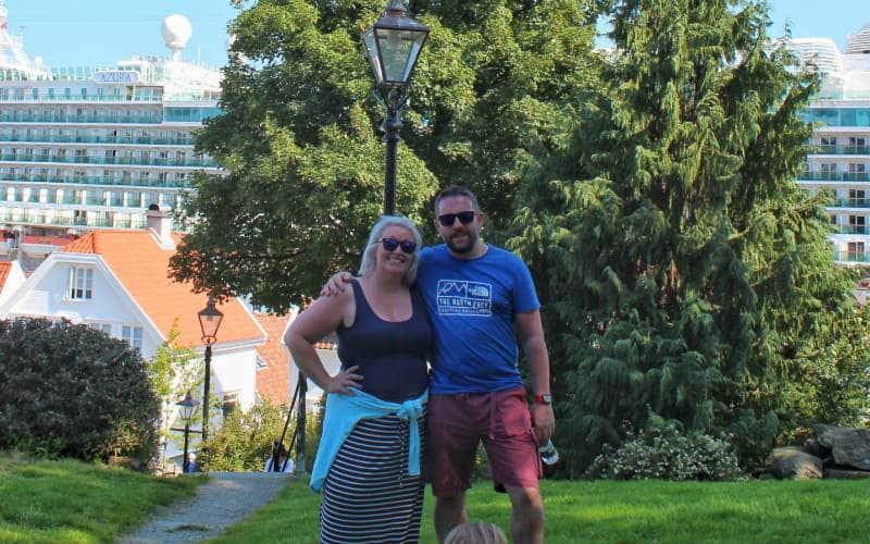 Cruise blogger Steph