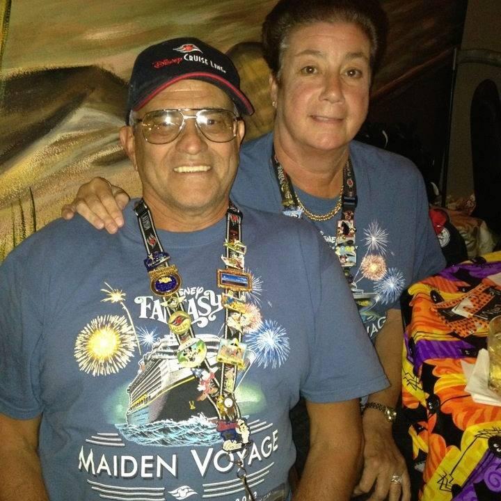 Barbara and Peter Sypien - Disney cruise addicts