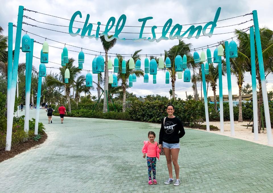 Chill island CocoCay