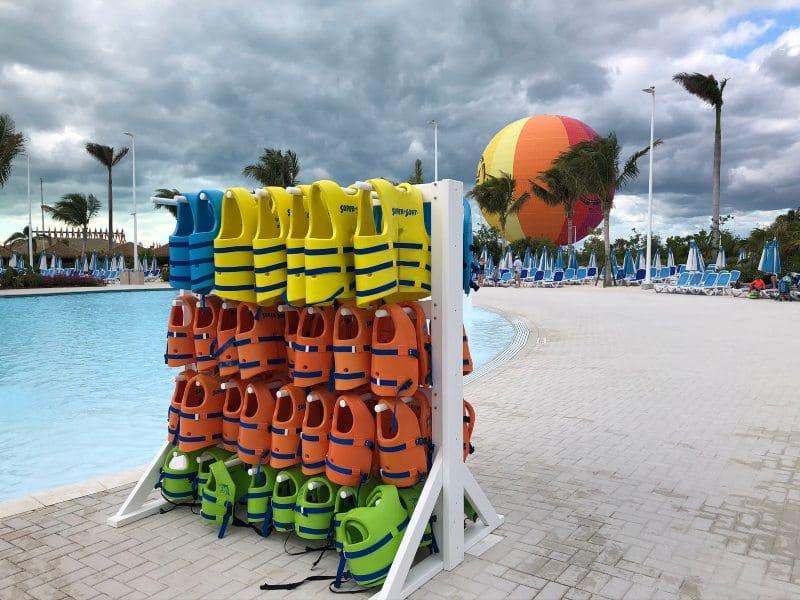 CocoCay life jackets