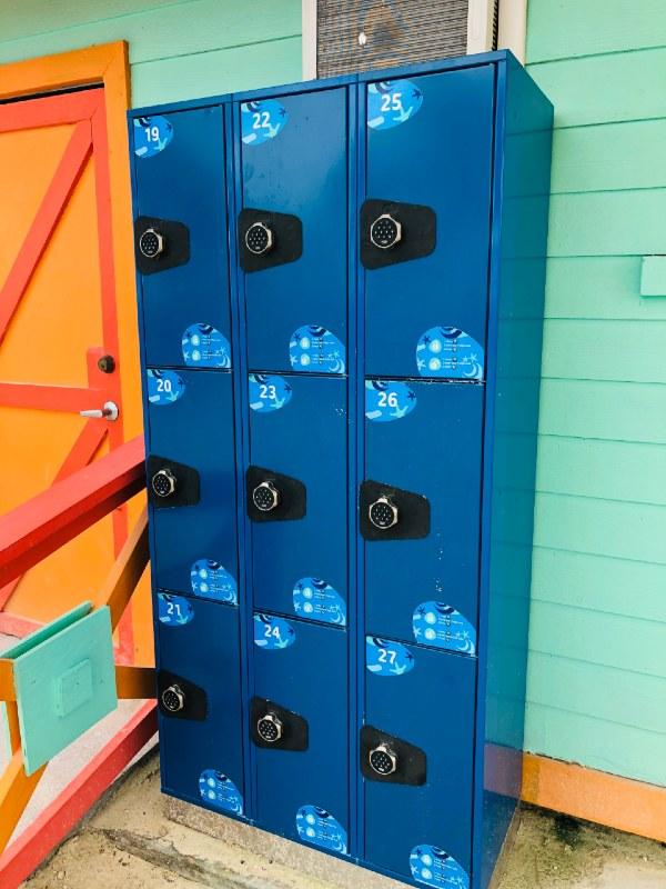 Cococay lockers