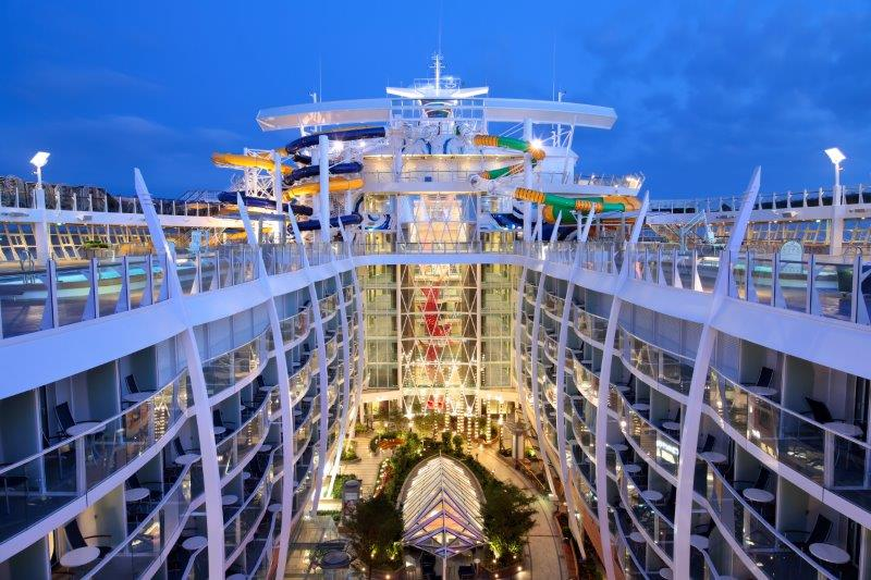 Harmony of the Seas - the longest cruise ship in the world