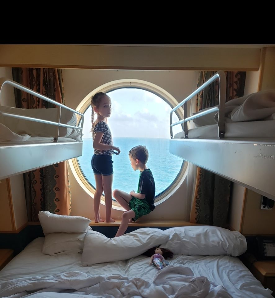 Liberty of the Seas Ocean View cabin with Pullman beds