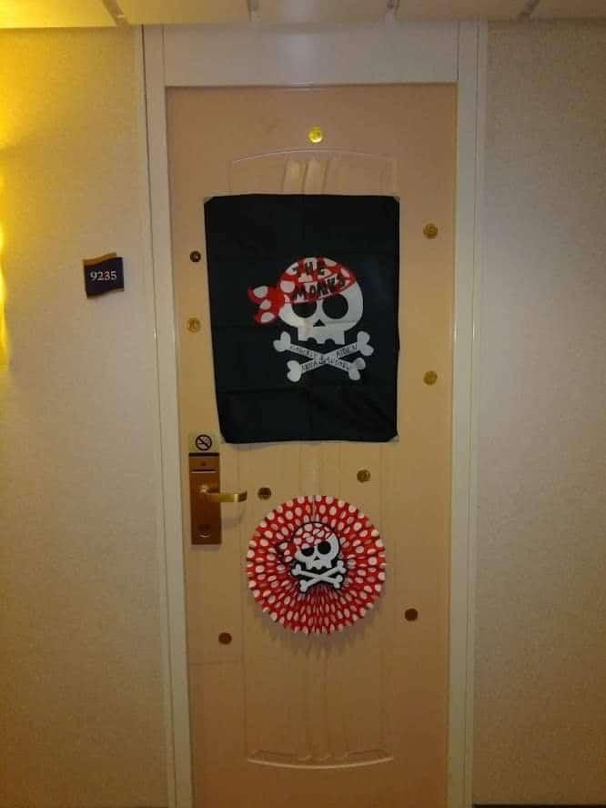 Pirate door decorations