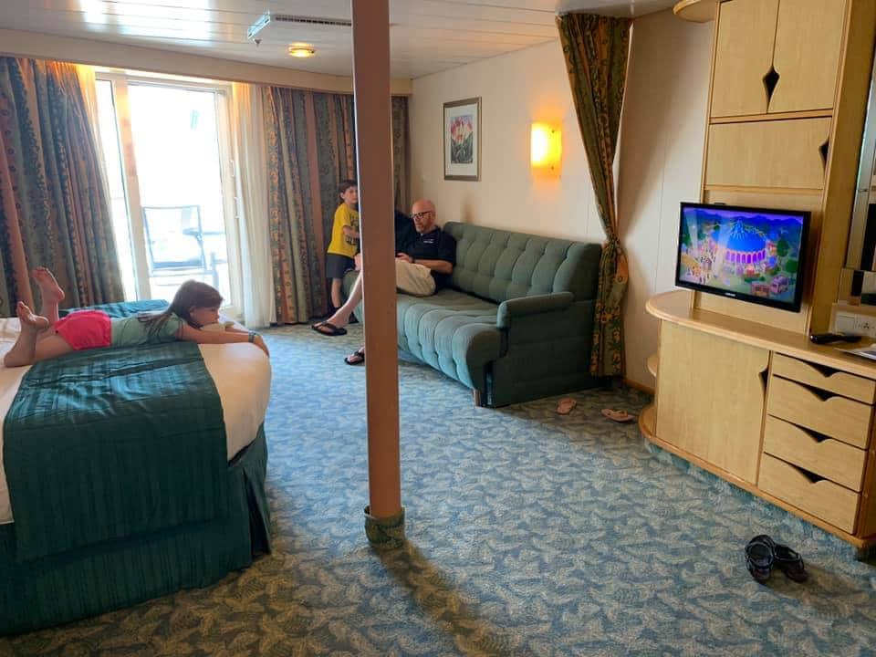 Spacious Balcony Cabin 1388 on Mariner of the Seas