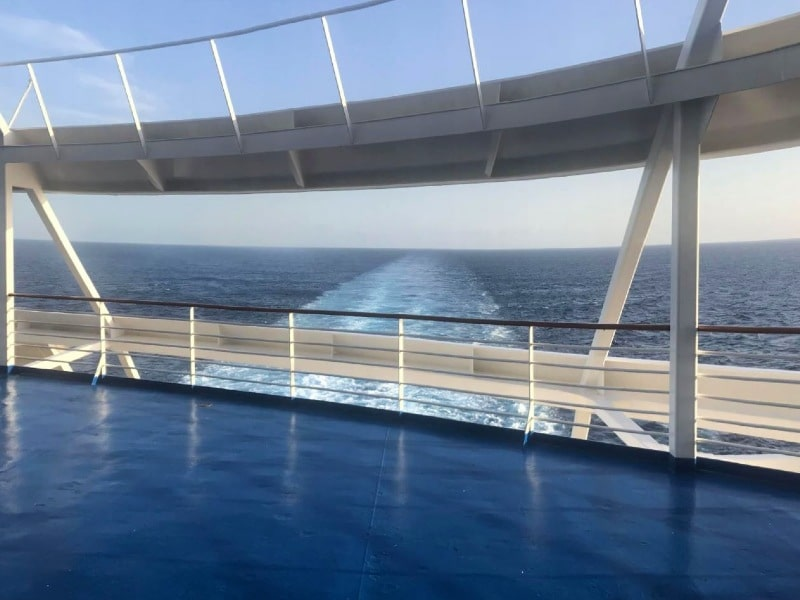 Mariner of the seas aft balcony cabin view