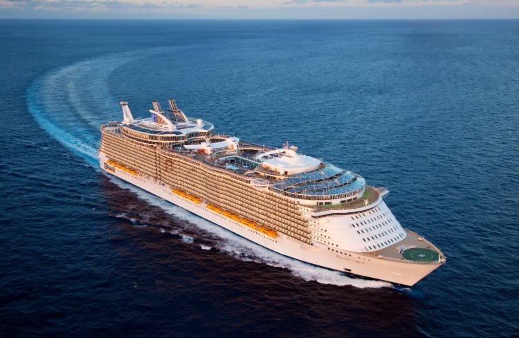 Allure of the Seas is one of the best Royal Caribbean ships for teenagers
